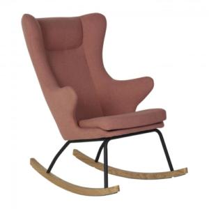 Quax Κουνιστή Πολυθρόνα De Luxe Soft Peach Για Μεγάλους