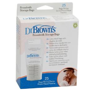 Dr Brown Σακουλάκια Αποθήκευσης Μητρικού Γάλακτος