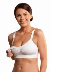 Carriwell Σουτιέν Θηλασμού με Ενίσχυση Λευκό