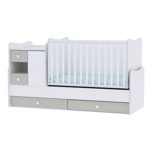 Lorelli Πολυμορφικό Κρεβάτι MiniMax White-Blue Elm