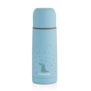 Miniland Θερμός Υγρών Silky Μπλε Inox 350ml