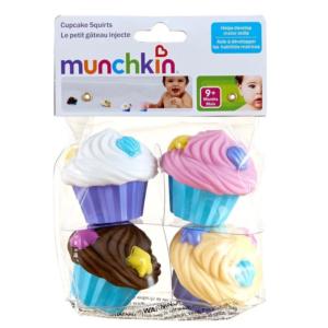Munchkin Μπουγελοκεκάκια Παιχνίδι Μπάνιου Cupcake