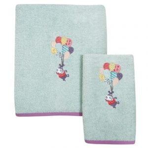 Das Home Πετσέτες Smile Embroidery 6457 (2τμχ)