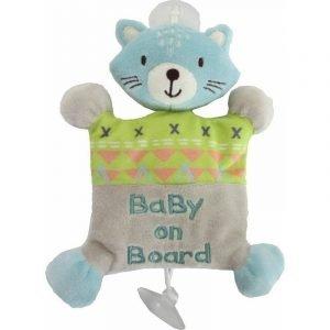 Kikka Boo Αυτοκόλλητο Σήμα Αυτοκινήτου Cat Baby On Board