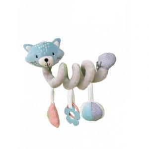 Kikka Boo Παιχνίδι Kαροτσιού Cat Horizontal Spiral Toy Blue