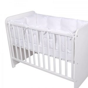 Lorelli Περιμετρική Πάντα Κρεβατιού 60x120 Λευκό