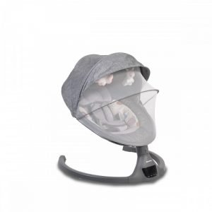 Cangaroo Ηλεκτρική Κούνια Ρηλάξ iSwing Dark Grey