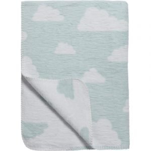 Meyco Κουβέρτα Little Clouds Blue 120x150