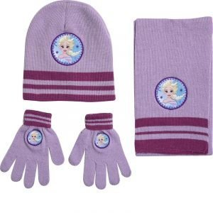 Stamion Παιδικό Σετ Σκούφος-Γάντια-Κασκόλ Frozen