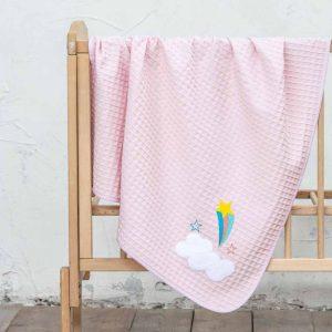 Nima Κουβέρτα Κούνιας Πικέ Acro (110 x 140 cm)