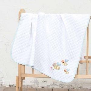 Nima Κουβέρτα Κούνιας Πικέ Yo Yo (110 x 140 cm)