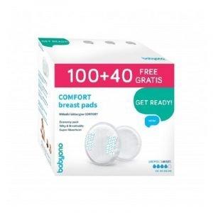 Babyono Comfort Επιθέματα Στήθους 100+40