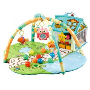 Cangaroo Γυμναστήριο Playmat Happy Farm Green