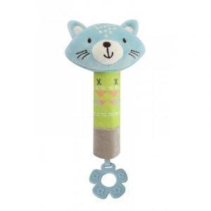 Kikkaboo Κουδουνίστρα Πίεσης Kit The Cat