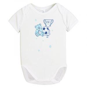 Pretty Baby Κορμάκι Εσώρουχο Λευκό 6-12m Cup