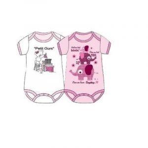 Pretty Baby Σετ Κορμάκια Petit Ours (2τμχ)