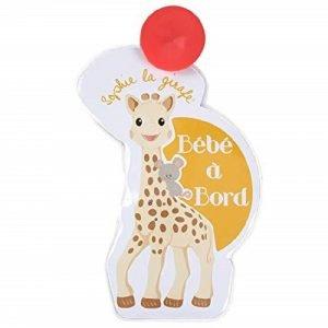 Sophie The Giraffe Baby on Board σήμα με φωτάκια Γαλλικά