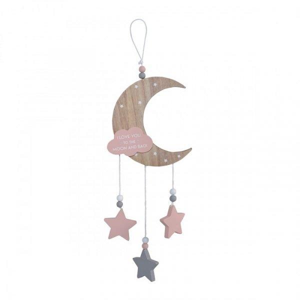 Cangaroo Διακοσμητικό Δωματίου Pink To The Moon And Back