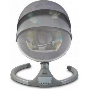 Cangaroo Ηλεκτρική Κούνια Ρηλάξ iSwing Light Grey
