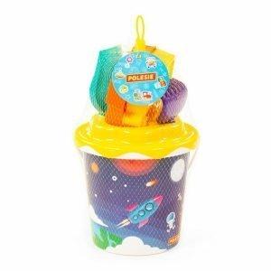 Moni Σετ Παραλίας Decorated Bucket (6τμχ)