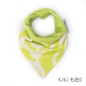 Kiki Bibs Υφασμάτινη Σαλιάρα-Μπαντάνα Disco Green